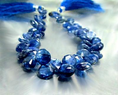 Kyanite, Blue, Heart